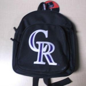 NWT LICENSED COLORADO ROCKIES Backpack 140671